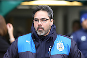 Huddersfield Town Manager David Wagner  during the Sky Bet Championship match between Huddersfield Town and Sheffield Wednesday at the John Smiths Stadium, Huddersfield, England on 2 April 2016. Photo by Simon Davies.