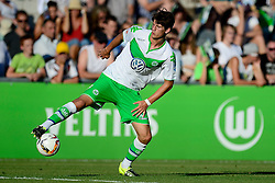 21.07.2015, Singen, SUI, Testspiel, VfL Wolfsburg vs FC Zuerich, im Bild Timm Klose (Wolfsburg) // during the International Friendly Football Match between VfL Wolfsburg and FC Zuerich at Singen, Switzerland on 2015/07/21. EXPA Pictures © 2015, PhotoCredit: EXPA/ Freshfocus/ Claudia Minder<br /> <br /> *****ATTENTION - for AUT, SLO, CRO, SRB, BIH, MAZ only*****