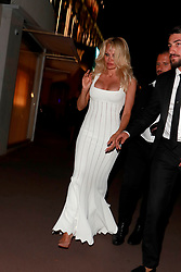 Pamela Anderson is seen leaving a Party in Cannes. 23 May 2017 Pictured: Pamela Anderson. Photo credit: LUCA TEUCHMANN / MEGA TheMegaAgency.com +1 888 505 6342