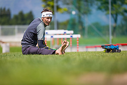 Robert Kranjec during training of Slovenian Ski Jumping team, on May 22th, 2017 in Sports Park Kranj, Kranj, Slovenia. Photo by Ziga Zupan / Sportida