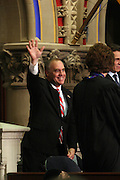 Comptroller Thomas P. DiNapoli at Swearing-in of the Honorable David A. Patterson as 55th Governor of New York  at The New York State Capitol in the Assembly Chambers on March 17, 2008