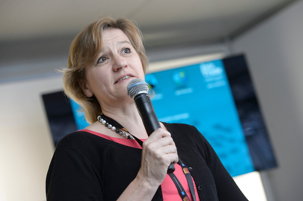 03 June 2015 - Belgium - Brussels - European Development Days - EDD - Trade - Empowering smallholders participation in global supply chains - Caroline Hickson , Director of Brand and Communications © European Union