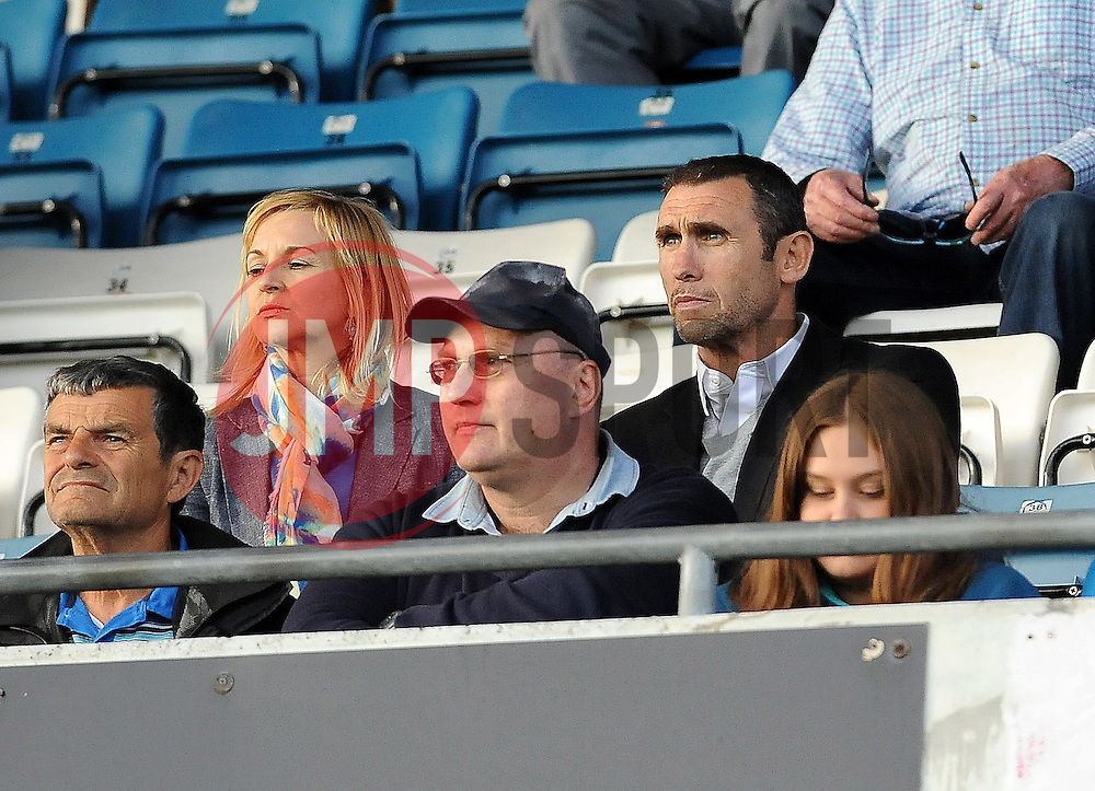 Football pundit and former player Martin Keown was in the crowd to watch his son, Reading's Niall Keown - Mandatory by-line: Neil Brookman/JMP - 21/07/2015 - SPORT - FOOTBALL - Bristol,England - Memorial Stadium - Bristol Rovers v Reading - Pre-Season Friendly