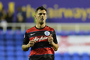 Queens Park Rangers defender Grant Hall during the Sky Bet Championship match between Reading and Queens Park Rangers at the Madejski Stadium, Reading, England on 3 December 2015. Photo by Mark Davies.