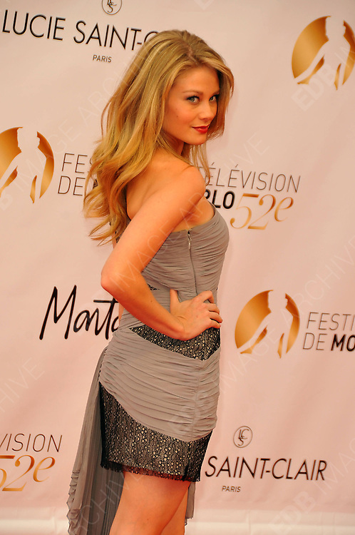 10.JUNE.2012. MONACO<br /> <br /> KIM MATULA ATTENDS THE OPENING CEREMONY OF THE 52ND MONTE CARLO TELEVISION FESTIVAL HELD AT THE GRAMALDI FORUM.  <br /> <br /> BYLINE: EDBIMAGEARCHIVE.CO.UK<br /> <br /> *THIS IMAGE IS STRICTLY FOR UK NEWSPAPERS AND MAGAZINES ONLY*<br /> *FOR WORLD WIDE SALES AND WEB USE PLEASE CONTACT EDBIMAGEARCHIVE - 0208 954 5968*