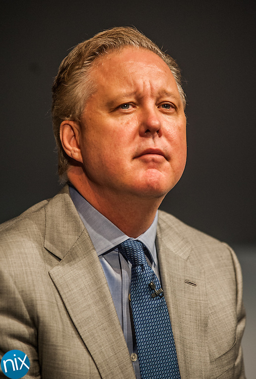 Brian France, CEO and Chairman of NASCAR, during the Charlotte Motor Speedway Media Tour presented by Technocom at the NASCAR Hall of Fame in Charlotte Tuesday morning.