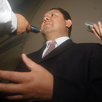 Toluca, Mex.- Rogelio Tinoco García, director de los Servicios Educativos Integrados de de Estado de México (SEIEM), advirtió que no cederá a la presión de los alumnos y egresados de la escuela Normal de Tenería. Agencia MVT / Luis Enrique Hernandez V. (DIGITAL)<br /> <br /> <br /> <br /> NO ARCHIVAR - NO ARCHIVE