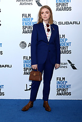 February 23, 2019 - Santa Monica, CA, USA - LOS ANGELES - FEB 23:  Elsie Fisher at the 2019 Film Independent Spirit Awards on the Beach on February 23, 2019 in Santa Monica, CA (Credit Image: © Kay Blake/ZUMA Wire)