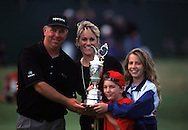 MARK O'MEARA WINS AND FAMILLY<br />OPEN 1998