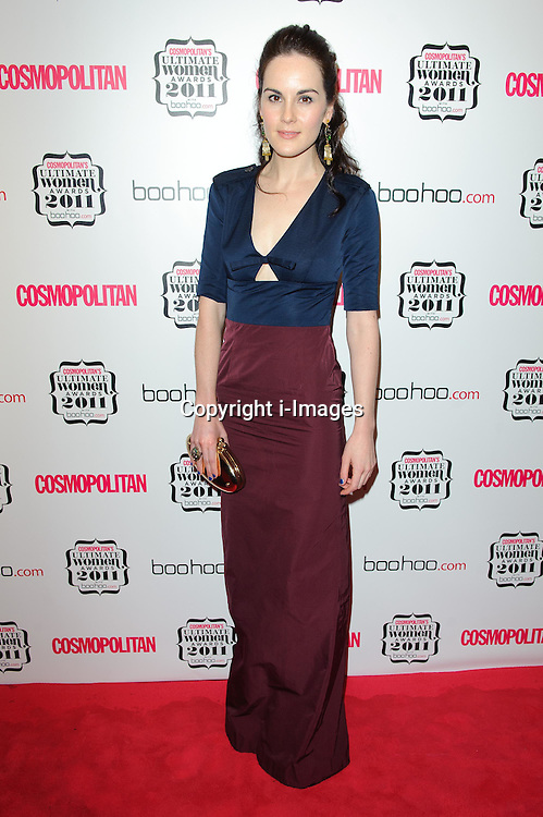 Michelle Dockery at Cosmopolitan's Ultimate Women Awards 2011 in London, Thursday, November 3rd 2011.  Photo by: i-Images