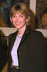 MRS CAMILLA LEIGH PEMBERTON daughter in law of the former Governor of the Bank of England, at a luncheon in London on 12th January 1999.  MNC 14 WORO