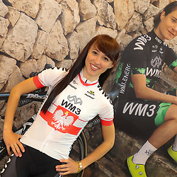 07-02-2017: Wielrennen: Teampresentatie WM3: Eindhoven  <br />EINDHOVEN (NED) cycling<br />At the European Head Quater of Shimano the new WM3 Team with leading lady Marianne Vos was presented. Polish Champion Kasia Niewiadoma