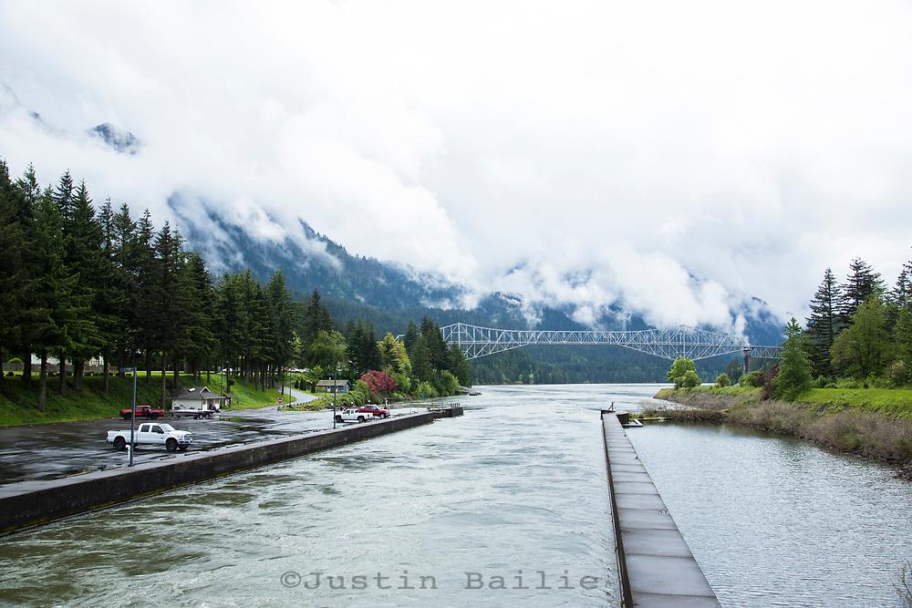 Cascade Locks, Oregon.