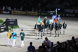 Openingceremony: Team Ireland<br /> World Equestrian Games Lexington - Kentucky 2010<br /> © Dirk Caremans