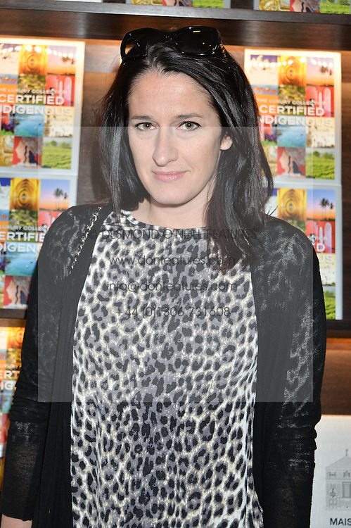 AMY MOLYNEAUX at the launch of 'Certified Indigenous' with Assouline and The Luxury Collection held at Maison Assouline, Piccadilly, London on 13th May 2015.