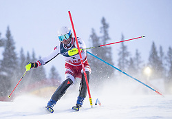 11.02.2019, Aare, SWE, FIS Weltmeisterschaften Ski Alpin, alpine Kombination, Herren, Slalom, im Bild Romed Baumann (AUT) // Romed Baumann of Austria reacts after the Slalom competition of the men's alpine combination for the FIS Ski World Championships 2019. Aare, Sweden on 2019/02/11. EXPA Pictures © 2019, PhotoCredit: EXPA/ Johann Groder