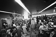 September 21, 1959. Nikita Khrushchev  admiring fabulous selection US foods. Security had asked the grocery store director not to let in his friends, but he obviously did not comply.<br /> <br /> 21 Septembre 1959. Nikita Khrouchtchev admirant la fabuleuse s&eacute;lection d'aliments am&eacute;ricains. Les Services Secrets avaient demand&eacute; au directeur du magasin ne pas laisser entrer ses amis, mais il n'a &eacute;videmment pas obeit.