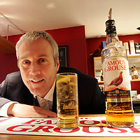 Derek Brown of The Famous Grouse Experience pictured in the bar at the Famous Grouse Experience, where Derek conducts sessions of his Passport to Success programme which has been shortlisted for an award.<br />