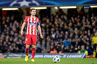 LONDON,ENGLAND - DECEMBER 05: Atletico Madrid (14) Gabi during the UEFA Champions League group C match between Chelsea FC and Atletico Madrid at Stamford Bridge on December 5, 2017 in London, United Kingdom.  <br /> ( Photo by Sebastian Frej / MB Media )