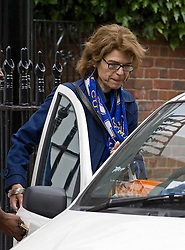 © London News Pictures. London, UK. 15/05/2011. Vicky Pryce the ex wife of Energy and Climate Change Secretary Chris Huhne leaving her home in Clapham, south London today (15/05/2011).  Photo credit should read: Ben Cawthra/LNP.