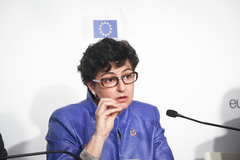 20160615 - Brussels , Belgium - 2016 June 15th - European Development Days - Developments in agricultural trade and the Sustainable Development Goals in African, Caribbean and Pacific countries - Arancha Gonzalez , Executive Director , International Trade Centre © European Union