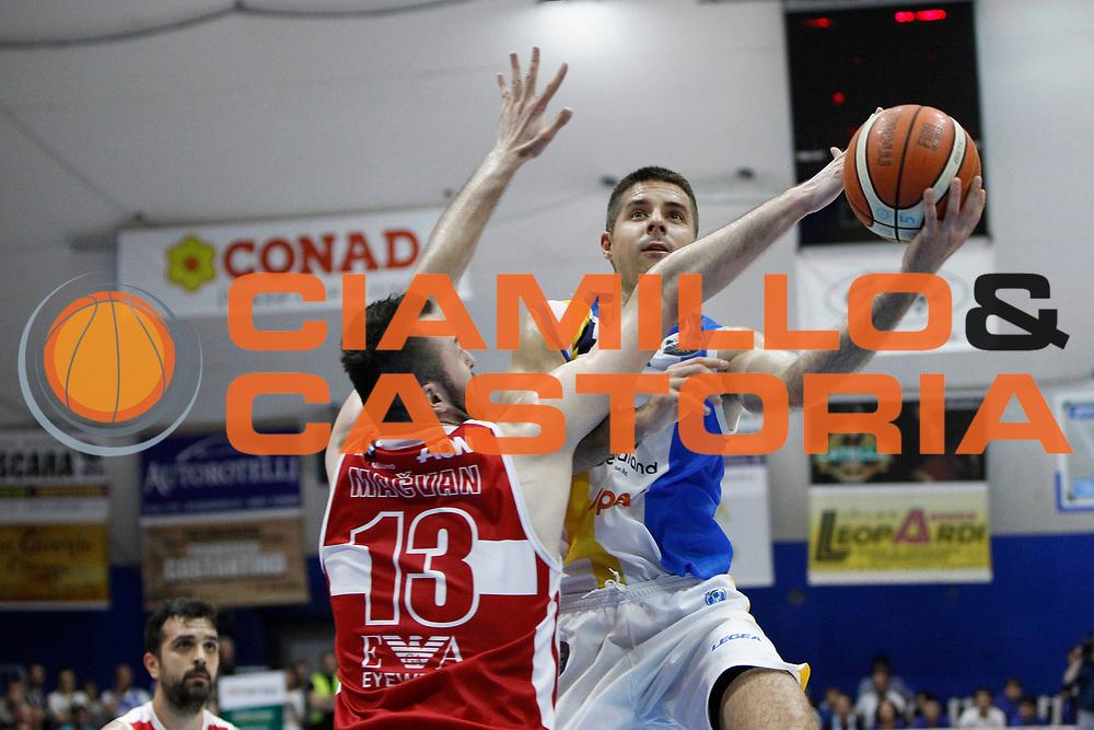 Tepic Milenko<br /> Betaland Capo D'Orlando - EA7 Emporio Armani Milano<br /> Lega Basket Serie A 2016/2017<br /> Playoff Gara 4<br /> Capo d'Orlando 18/05/2017<br /> Foto Ciamillo-Castoria