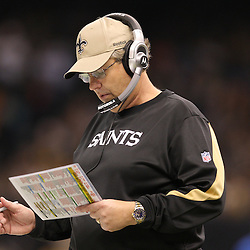Dec 27, 2009; New Orleans, LA, USA;  New Orleans Saints defensive coordinator Gregg Williams on the sideline during the second quarter against the Tampa Bay Buccaneers at the Louisiana Superdome. Mandatory Credit: Derick E. Hingle-US PRESSWIRE..