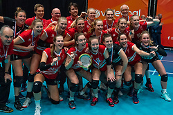 VCN after the cup final between Sliedrecht Sport and Laudame Financials VCN on February 16, 2020 in De Maaspoort in Den Bosch.