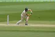 17th December 2018, Optus Stadium, Perth, Australia; International Test Series Cricket, Australia versus India, second test, day 4; Tim Paine of Australia plays straight during Australias second innings