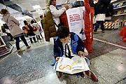 20180531/ Nicolas Celaya - adhocFOTOS/ URUGUAY/ MONTEVIDEO/ INTENDENCIA/ 18 Feria del Libro Infantil y Juvenil, en la Intendecia de Montevideo.<br /> En la foto: 18 Feria del Libro Infantil y Juvenil, en la Intendecia de Montevideo. Foto: Nicol&aacute;s Celaya /adhocFOTOS