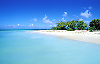 France - Département d'Outre mer de la Guadeloupe (DOM)- Basse Terre - Grand Cul de Sac Marin - Îlet Blanc / Îlet au sable