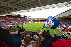 A general view as Bristol Rugby play Bath Rugby at Ashton Gate Stadium - Mandatory by-line: Dougie Allward/JMP - 26/02/2017 - RUGBY - Ashton Gate - Bristol, England - Bristol Rugby v Bath Rugby - Aviva Premiership