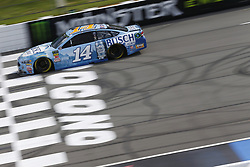 June 1, 2018 - Long Pond, Pennsylvania, United States of America - Clint Bowyer (14) brings his car down the frontstretch during qualifying for the Pocono 400 at Pocono Raceway in Long Pond, Pennsylvania. (Credit Image: © Chris Owens Asp Inc/ASP via ZUMA Wire)