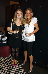 Left to right, LADY SYBILLA HART and ASTRID HARBORD at the opening party of the new Frankie's Bar & Grill at Selfridges, Oxford Street, London on 6th September 2006.<br /><br />NON EXCLUSIVE - WORLD RIGHTS