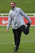 England Manager Gareth Southgate during England's Euro 2020 Qualifier training session at St George's Park National Football Centre, Burton-Upon-Trent, United Kingdom on 23 March 2019.
