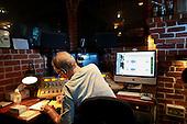 Dad at Radio Sausalito