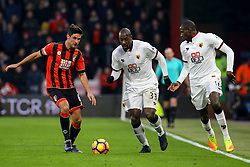 Stefano Okaka Chuka of Watford on the attack - Mandatory by-line: Jason Brown/JMP - 21/01/2017 - FOOTBALL - Vitality Stadium - Bournemouth, England - Bournemouth v Watford - Premier League