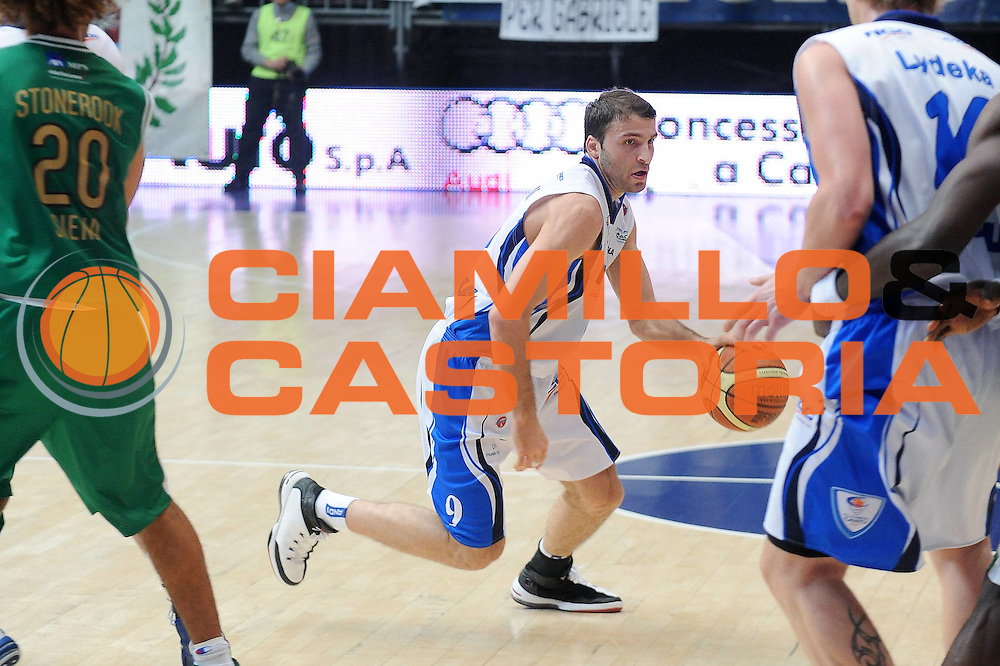 DESCRIZIONE : Cantu Lega A 2009-10 NGC Medical Cantu Montepaschi Siena<br />GIOCATORE : Manuchar Markoishvili<br />SQUADRA : NGC Medical Cantu<br />EVENTO : Campionato Lega A 2009-2010<br />GARA : NGC Medical Cantu Montepaschi Siena<br />DATA : 17/01/2010<br />CATEGORIA : palleggio<br />SPORT : Pallacanestro<br />AUTORE : Agenzia Ciamillo-Castoria/A.Dealberto<br />Galleria : Lega Basket A 2009-2010<br />Fotonotizia : Cantu Campionato Italiano Lega A 2009-2010 NGC Medical Cantu Montepaschi Siena<br />Predefinita :