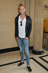 JACK FOX at the Gyunel Spring Summer 2015 fashion show as part of London Fashion week 2015 held at Victoria House, Bloomsbury Square, London on 12th September 2014.
