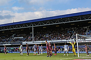 Queens Park Rangers corner during the EFL Sky Bet Championship match between Queens Park Rangers and Swansea City at the Loftus Road Stadium, London, England on 13 April 2019.