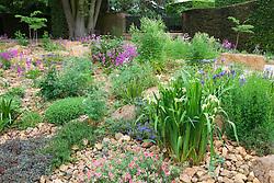 The Alpine Gravel Garden  at Hidcote Manor