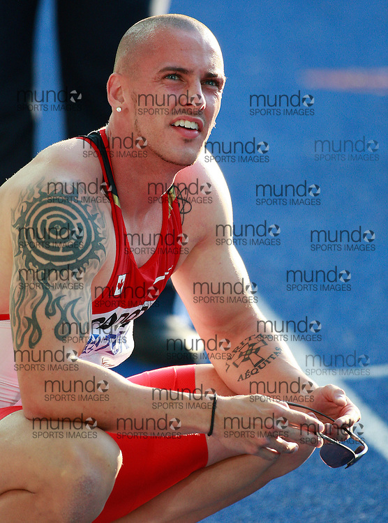 Berlin 2009 World Championships - August 18 -Day 4 - Evening *** Local Caption *** Jared Connaughton - 200m Canada