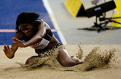 Ola Sesay (SLE) competes in the women's Long Jump Qualification during day seven of the 12th IAAF World Athletics Championships at the Olympic Stadium on August 21, 2009 in Berlin, Germany.(Photo by Vid Ponikvar / Sportida)