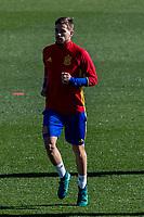 Spainsh Inigo Martinez during the training of the spanish national football team in the city of football of Las Rozas in Madrid, Spain. November 10, 2016. (ALTERPHOTOS/Rodrigo Jimenez)