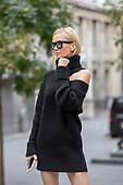 Tatiana Korsakova Street Style - LFW 18-09-2017 Getty