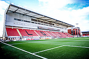 during the Sky Bet League 2 match between Leyton Orient and York City at the Matchroom Stadium, London, England on 21 November 2015. Photo by Simon Davies.