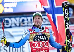 16.12.2016, Saslong, St. Christina, ITA, FIS Ski Weltcup, Groeden, Super G, Herren, Flower Zeremonie im Bild Kjetil Jansrud (NOR, 1. Platz) // race winner Kjetil Jansrud of Norway during the Flowers ceremony for the men's SuperG of FIS Ski Alpine World Cup at the Saslong race course in St. Christina, Italy on 2016/12/16. EXPA Pictures © 2016, PhotoCredit: EXPA/ Erich Spiess