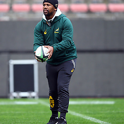Mzwandile Stick (Backs Coach) of South Africa during the South African - Springbok Captain's Run at DHL Newlands Stadium. Cape Town.South Africa. 22,06,2018 23,06,2018 Photo by (Steve Haag JMP)