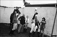 WINNING THE HORSE RACING ON THE MOOR, HAWICK COMMON RIDING, 9TH JUNE 2000. Scotland..PIC©JEREMY SUTTON-HIBBERT 2000..