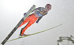 30.12.2011, Schattenbergschanze / Erdinger Arena, GER, Vierschanzentournee, FIS Weldcup, Wettkampf, Ski Springen, im Bild Janne Happonen (FIN) // Janne Happonen of Finland during the competition of FIS World Cup Ski Jumping in Oberstdorf, Germany on 2011/12/30. EXPA Pictures © 2011, PhotoCredit: EXPA/ P.Rinderer